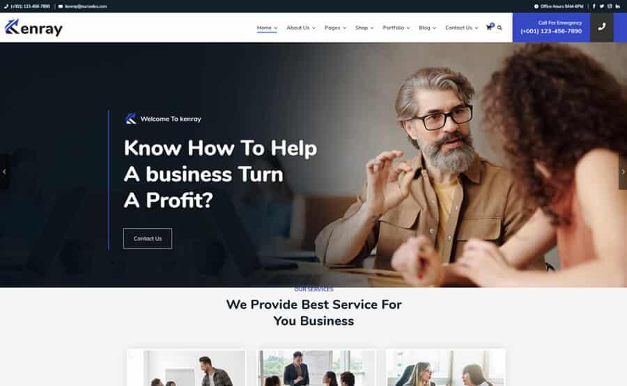 Start up WordPress Theme
